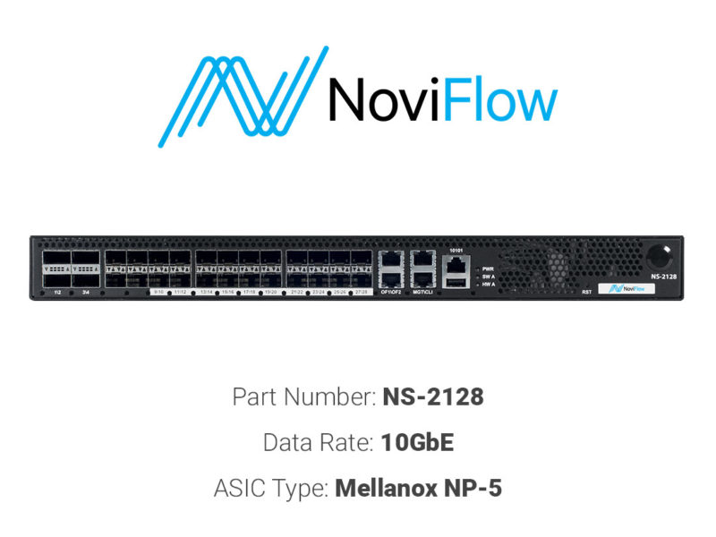 10GbE white box switch NoviFlow NS-2128